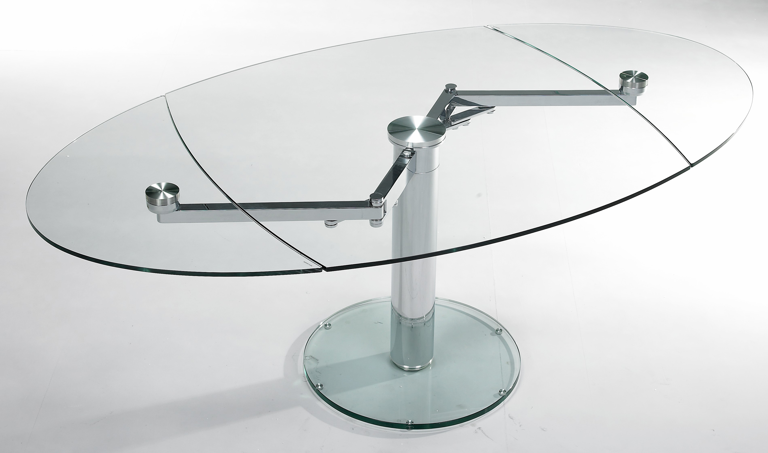 Extand 9042 eda concept collection de meubles design for Table de salle a manger en verre avec rallonge