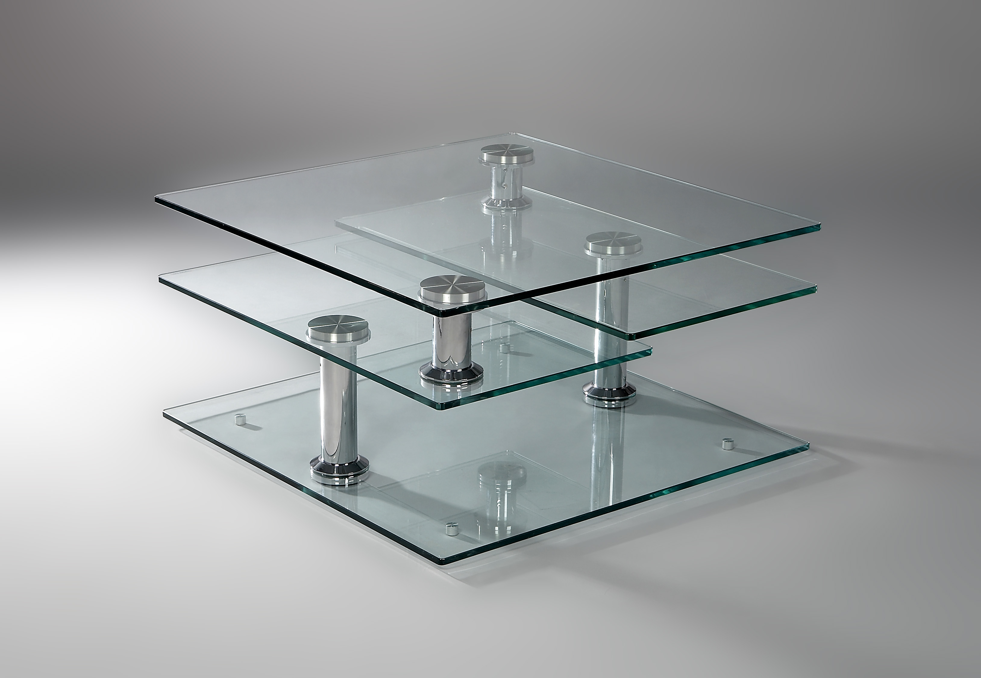 Moving 8052 eda concept collection de meubles design et intelligent - Table basse de salon en verre modulable ...